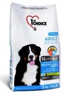 1st Choice Adult сухой корм для собак средних и крупных пород (с курицей) zoo812.ru