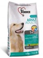1st Choice рекомендует: кормите собаку, склонную в ожирению, правильным кормом!